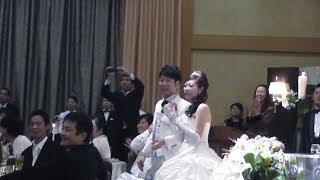 "getlinkyoutube.com-フラッシュモブ サプライズ 披露宴  神戸 「Raise Your Glass」 "" P!nk """