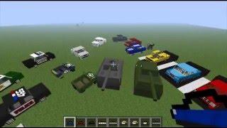 getlinkyoutube.com-Flans MOD Minecraft - Carros, Aviões e Armas (1.2.5)