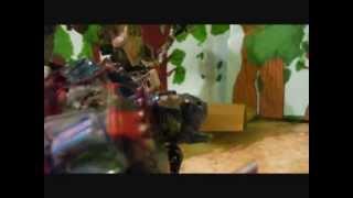 getlinkyoutube.com-Transformers Revenge of the Fallen- Forest Battle Stop-Motion