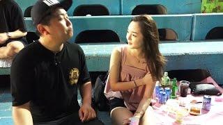 getlinkyoutube.com-[2] 해운대와 광안리 해수욕장 리얼한 현장 인터뷰 - KoonTV
