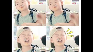 getlinkyoutube.com-Super Cute - Triplet Song Il Gook, Daehan, Mingguk and Manse - Going To Doctor Eng Sub