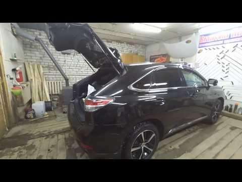 Разборка задней двери хлопушки Lexus RX 350