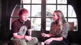 getlinkyoutube.com-Ed Sheeran Shares First Impression of Taylor Swift + Touring Shenanigans