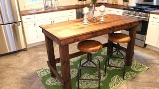 The $20 Kitchen Island - DIY Project
