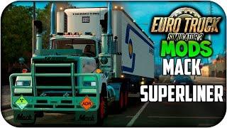 getlinkyoutube.com-Mack Superliner | Euro truck simulator 2 | 1.21 - 1.22
