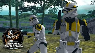 getlinkyoutube.com-Star Wars Battlefront II Mods (PC) HD: Designated Days 1-1 | Clone Wars