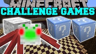 getlinkyoutube.com-Minecraft: CHRISTMAS SPIDER CHALLENGE GAMES - Lucky Block Mod - Modded Mini-Game