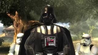 getlinkyoutube.com-Darth Vader fight on Kashyyyk (Star Wars: Force Unleashed)