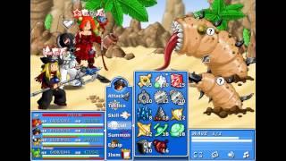 getlinkyoutube.com-Epic Battle Fantasy 4 Mid-Boss:Sand Worm [Epic Difficulty]
