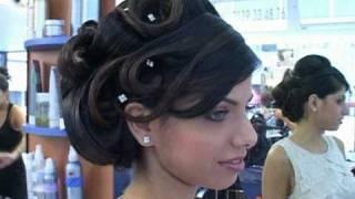 getlinkyoutube.com-LISA COIFFURE - Chignons classiques