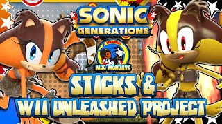 getlinkyoutube.com-Sonic Generations PC - (1080p 60FPS) Sticks & Wii Unleashed Project