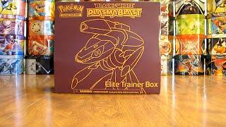 getlinkyoutube.com-Pokemon TCG Elite Trainer Box Opening: Plasma Blast