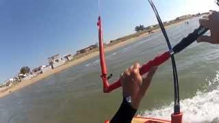 getlinkyoutube.com-Gong Short Sup & Airush Kite - ULW riding