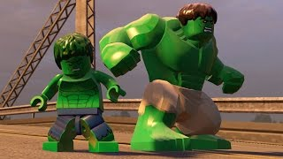 getlinkyoutube.com-LEGO Marvel's Avengers - All Hulk Characters | Free Roam Gameplay  (PC HD) [1080p]