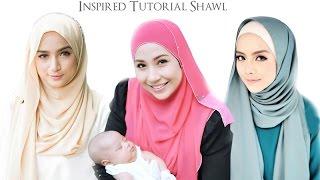 getlinkyoutube.com-FarahanimRazak || IrmaHasmie || MiraFilzah inspired tutorial shawl