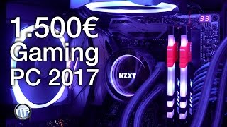 getlinkyoutube.com-1.500€ / 1.600€ Gaming PC 2017 - i7 7700k, ASUS Maximus IX Hero, GTX 1070 Strix