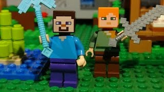 getlinkyoutube.com-LEGO MINECRAFT - AWESOME COMPILATION