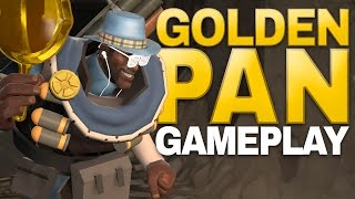 getlinkyoutube.com-Golden Frying Pan! Turning People Into Gold! [Gameplay]