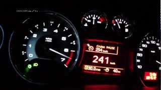 getlinkyoutube.com-Peugeot RCZ 2013 1,6 THP 200 - acceleration 0-235 km/h