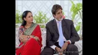 getlinkyoutube.com-Rendezvous with Simi Garewal Amitabh Bachchan & Family Part 1
