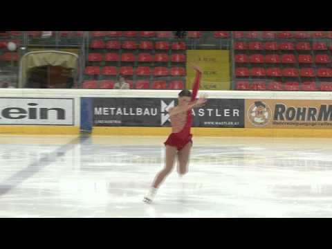 14 Samantha CESARIO (USA) - ISU JGP Austria 2012 Junior Ladies Short Program