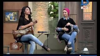 """getlinkyoutube.com-برنامج هي  وفقرة فنية خاصة مع """"دنيا ورانيا"""" بنات يحترفن العزف على الطبلة"""