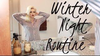 getlinkyoutube.com-Winter Night Time Routine ♡