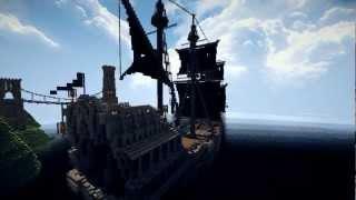 getlinkyoutube.com-【Minecraft】Queen Anne's Revenge