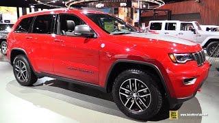getlinkyoutube.com-2017 Jeep Grand Cherokee TrailHawk - Exterior and Interior Walkaround - 2017 Detroit Auto Show