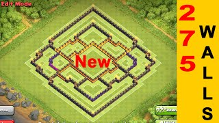 getlinkyoutube.com-NEW TOWNHALL 10 FARMING BASE WITH 275 WALLS | Clash of Clans Base Bulding