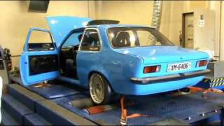 getlinkyoutube.com-Chris Opel Kadett C 1.3 Turbo Dyno 2
