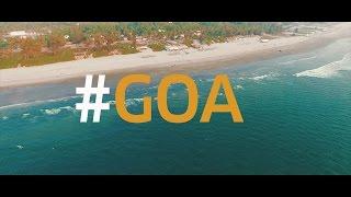 A Glimpse of Mandrem, Goa - (BEST GOA BEACH VIDEO IN 4K)