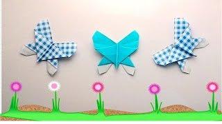 getlinkyoutube.com-Origami butterfly 2 (พับผีเสื้อ2)