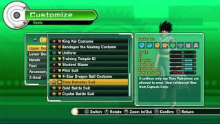 getlinkyoutube.com-Dragon Ball Xenoverse HOW TO - Time Patroller Costume