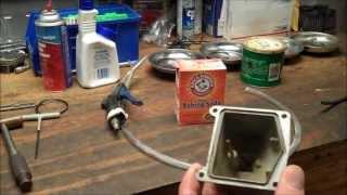 getlinkyoutube.com-How-To: DIY Soda Blaster - Cleaning Motorcycle Carburetor