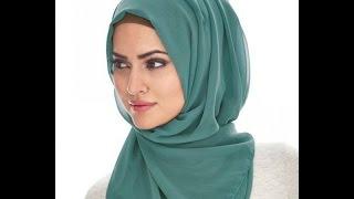 getlinkyoutube.com-احدث صور لفات الحجاب الخليجى و التركي 2015