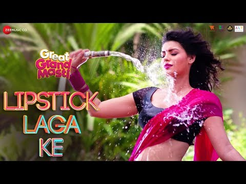Lipstick Laga Ke - Full Video | Great Grand Masti | Sonali Raut, Riteish D, Vivek O, Aftab S
