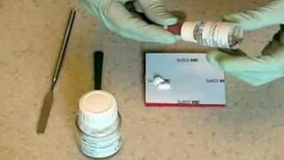 Mixing Glass Ionomer