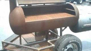 getlinkyoutube.com-BUILD A SMOKER TRAILER OUT OF JUNK