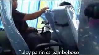 getlinkyoutube.com-Manyak na Pulis sa Bus