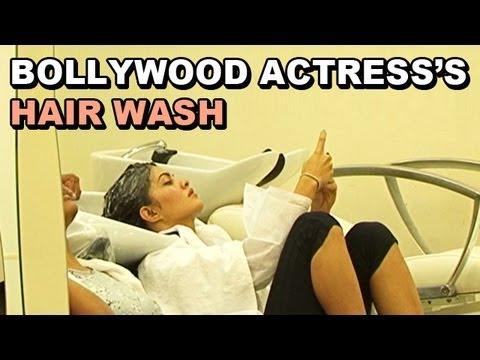 Jacqueline Fernandez at a spa