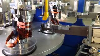 getlinkyoutube.com-Automatic Stator Winding and Inserting Machine-Nide Mechanical
