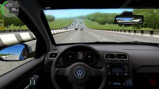 getlinkyoutube.com-City Car Driving - Volkswagen Polo Sedan + (Download link!)