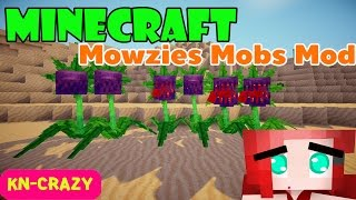 getlinkyoutube.com-มายคราฟ Mod รีวิว : Mowzies Mobs Mod ดอกไม้กินคน