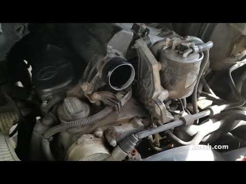 Почему по утрам дизель чмыхает во впускной коллектор Mercedes Sprinter 311CDI 2.1d, OM611