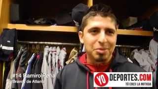 La batalla de Ramiro Peña en Grandes Ligas
