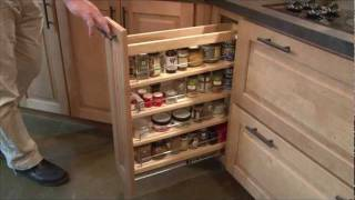 getlinkyoutube.com-Special Features for Kitchen Cabinets by CliqStudios.com
