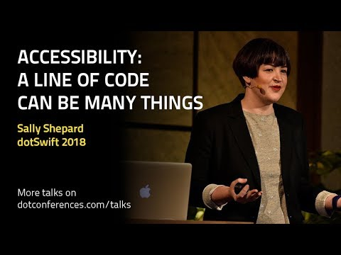 Accessibility: A line of code can be many things