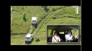 getlinkyoutube.com-Двойной тест-драйв: Toyota Land Cruiser Prado и Toyota Land Cruiser 200 на русском холмогорье.