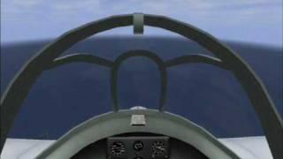 getlinkyoutube.com-Il-2 Ohka (Baka) kamikaze attack